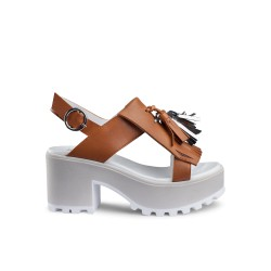 Sandalo Donna Cult Jam Sandal Cuoio