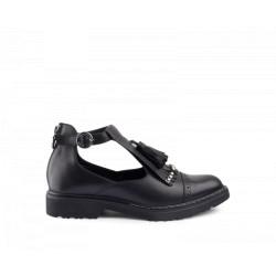 Sandalo Donna Cult Rose mid nero