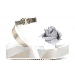 Sandalo donna Cafenoir cinturino e rosa