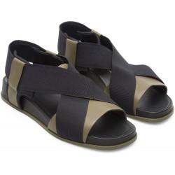 Sandalo donna Camper Atonik nero