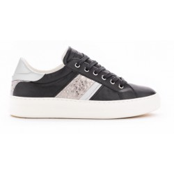 Sneakers Crime London Sonik black leather
