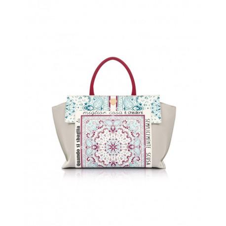 Mosaik Bag Le Pandorine taupe