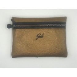 Packet Gabs old gold metal leather sacket