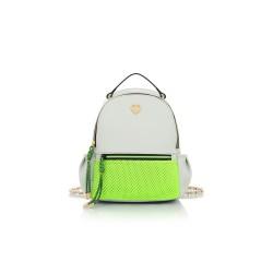 Borsa zaino Le Pandorine backpack Marshmallow grigio