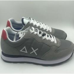 Sneakers tom solid nylon mesh light grey