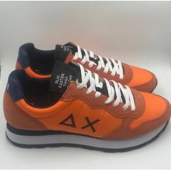 Sneakers Uomo Sun 68 arancio/navy