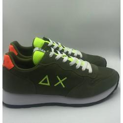 Sneakers Uomo Sun 68 verde militare