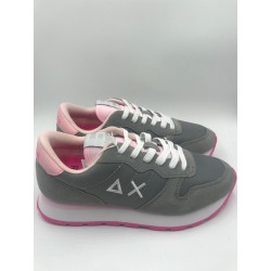 Shoes Sun 68 Runner woman solid nylon light grey