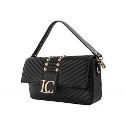 La Carrie Bag Clutch bag Prayer Baghette vegan black leather