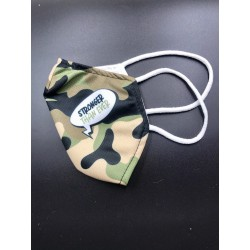Mask cover face Le pandorine Camouflage stronger