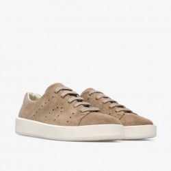 Camper sneakers leather light brown