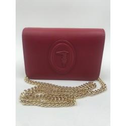 Clutch Shoulder bag Trussardi Jeans red