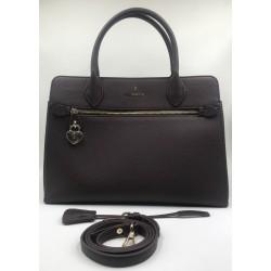 Tote bag Shoulder bag Trussardi Jeans dark brown large