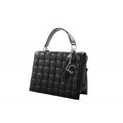 La Carrie Bag Shopping large shoulder bag soft black