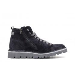 Men's suede Blue Shoes