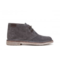 Men's suede dark grey Desert Boot Shoes