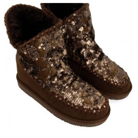 Australian boot Gioseppo slip on brown
