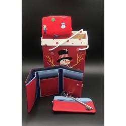Chrismas gift box purple for her