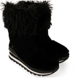 Sneakers boot Gioseppo eco fur black
