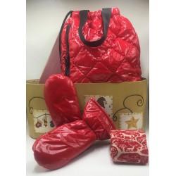 Christmas gift box cold i'm not afraid of you