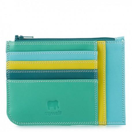Credit card holder Mywalit slim light green