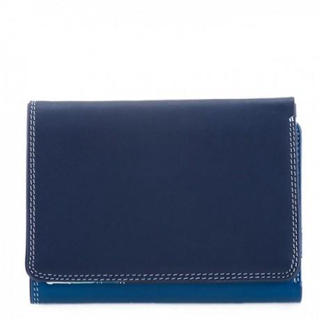 Small tri-fold wallet Mywalit denim