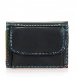 Small tri-fold wallet Mywalit black