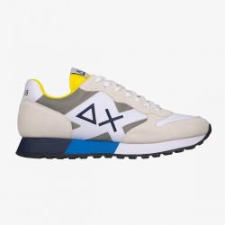 Sneakers Yaki nylon mesh white