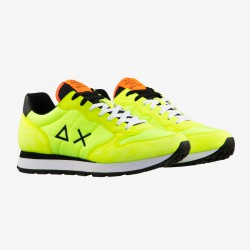Sneakers Tom nylon solid fluorescent green