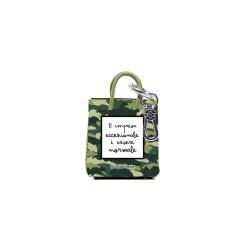 mini shopper keychian camouflage
