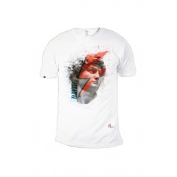 Woman's Tshirt organic cotton David white