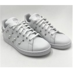 Woman's Sneakers Adidas Stan Smith limited edition custom white