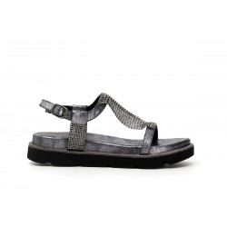 Woman Shoes Cult Sandal comfortable heeled silver