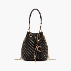 La Carrie Bag Bucket shoulder bag Vision black