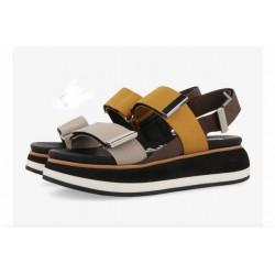 Woman's Shoes Gioseppo Sandal comfortable heeled pyton