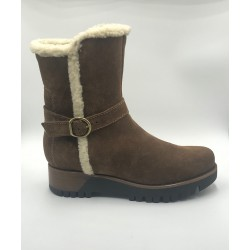 Boot Manas woman brown and merinos