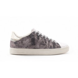 Sneakers donna Crime London Beat argento