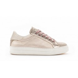 Sneakers Crime London Sonik gold leather