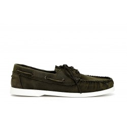 Boat Shoes Cafenoir army green