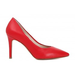 Pumps shoe Cafenoir heel 10 red