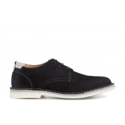 Classic man shoes dark blue