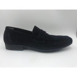 Classic man shoes dark blue
